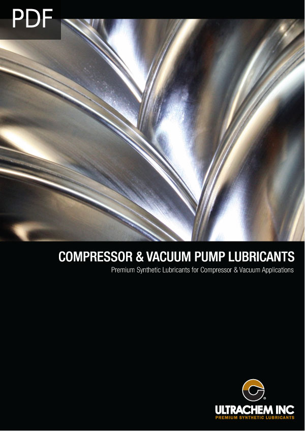 AIR COMPRESSOR & VACUUM PUMP LUBRICANTS